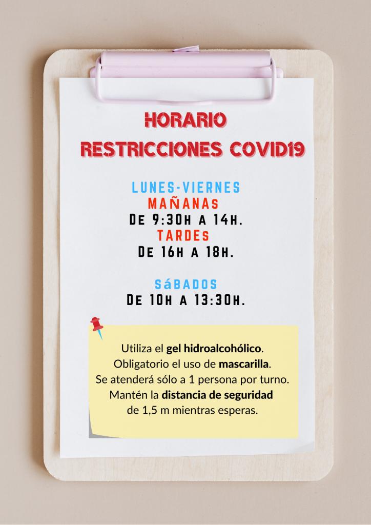 Horario Copigraf Covid19